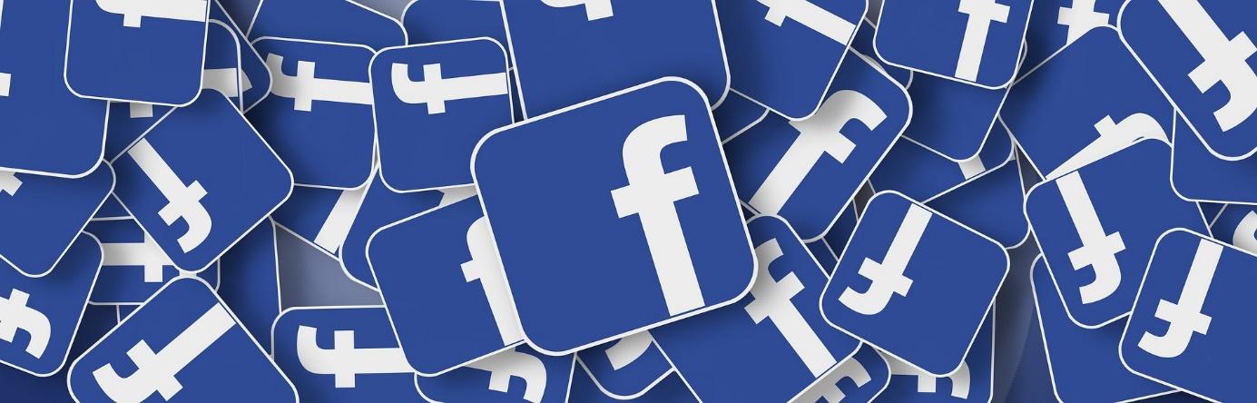 dużo ikon loga facebooka