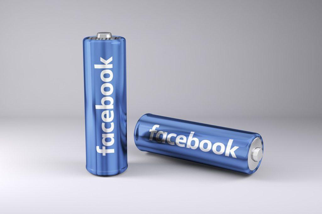 baterie facebooka